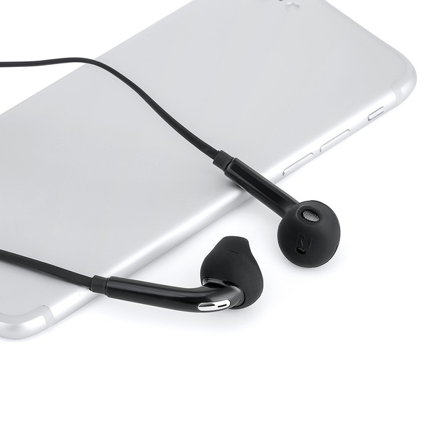 Wired Earphones 3.5mm Stereo No bluetooth Headphone  Music Sport Headset with Microphone for Samsung Xiaomi Mi 9 Huawei Hot Sale 1