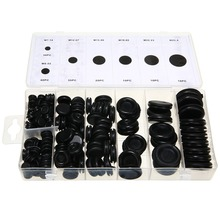 170pcs Rubber Grommet Firewall Hole Plug Set Car Electrical Wire Cable Gasket Kit Mayitr Hardware Tools For Valve Pump