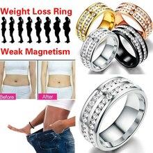 1 шт. стимулирующее кольцо с желчным камнем для акупунктурных точек, магнитное кольцо для здоровья, для потери веса, для похудения, кольцо для фитнеса, кольцо для уменьшения веса