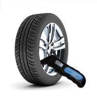 LCD Display Digital Auto Reifen Reifen Air Manometer Meter Manometer Barometers Tester für Auto Lkw Motorrad Bike Reifendruck-Monitorsysteme Kraftfahrzeuge und Motorräder -