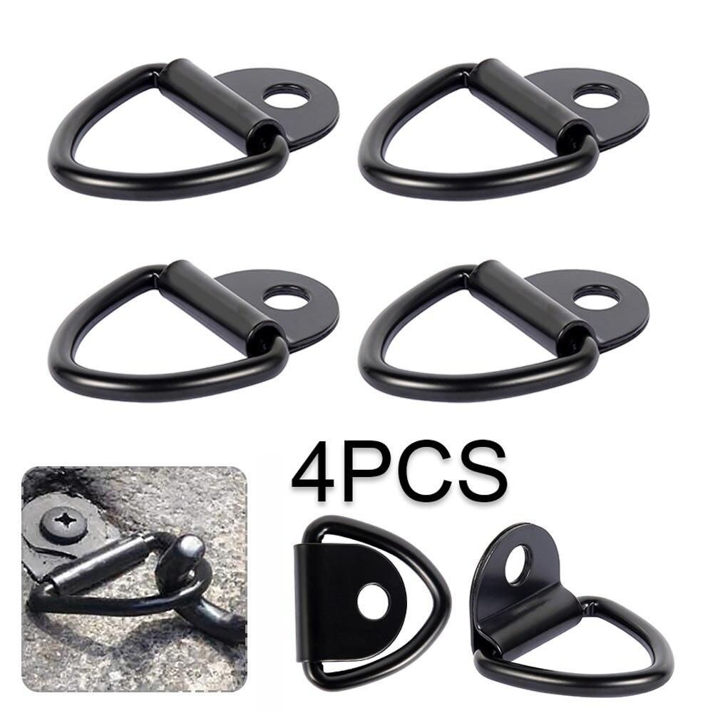 4 PCS Audew V кольца крюк галстук вниз кольцо груз якорь прицеп ковка крепление грузовик быстрая доставка высокое качество