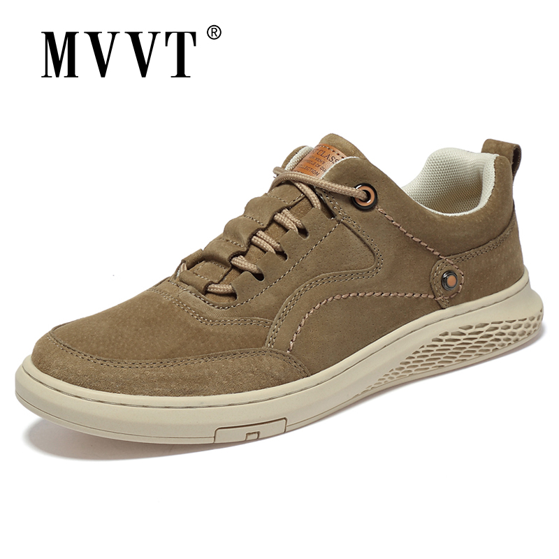 Breathable Fashion Men Sneakers Suede Casual Leather Shoes Men Comfortable Men Loafers Fashion Men Leather Shoes Walking Zapatos