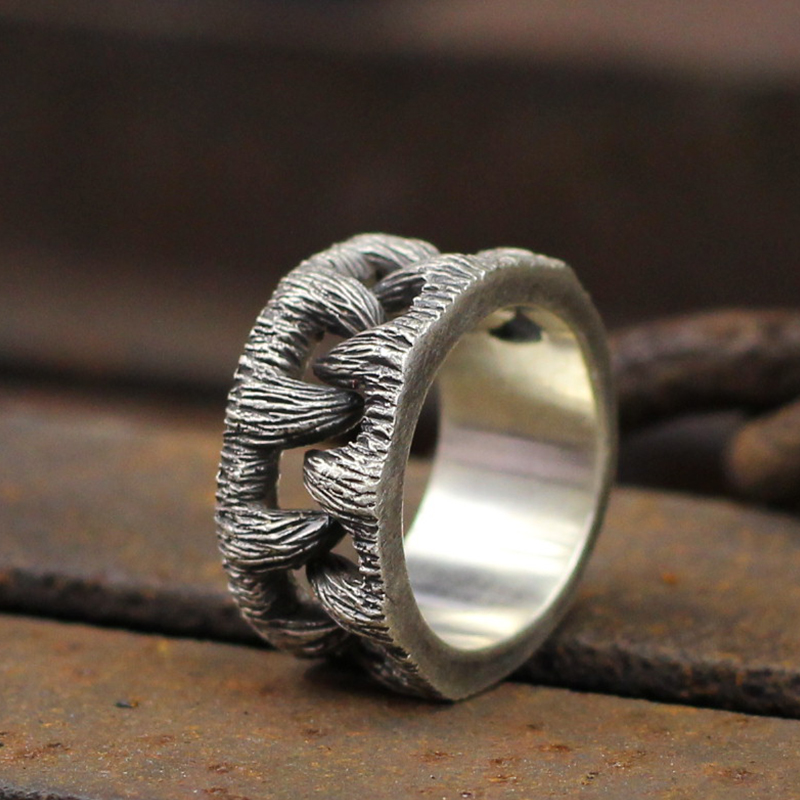 Unique Mens Monster Goth Teeth Ring Gothic Stainless Steel Ring for Men Fashion Biker Jewelry Rings    - AliExpress