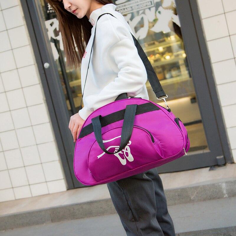 Adult Dance Handbag Crossbody Cavans Travel Bag For Child Ballet Dance Bag Women Gymnastic Sports Yoga Dance Bag For Girl Ladies
