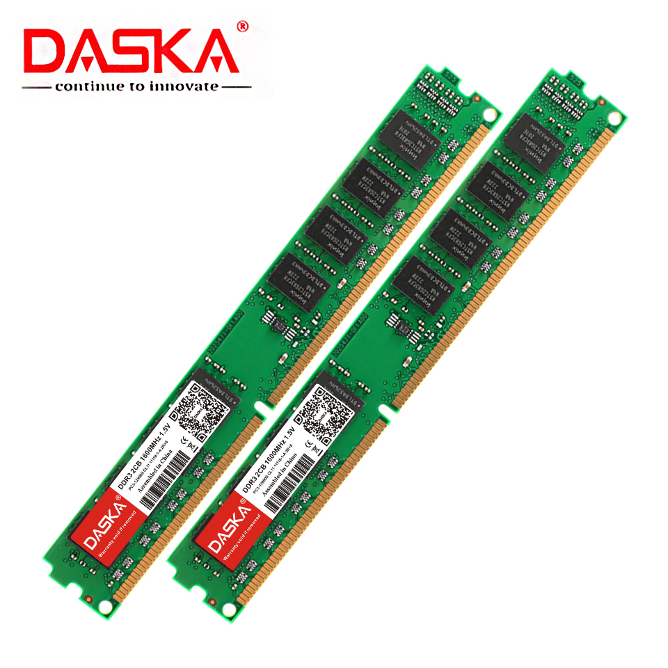 DASKA DDR3 Desktop Memory RAM with 8GB/4GB/2GB Capacity and 1600/1333MHz Speed 1
