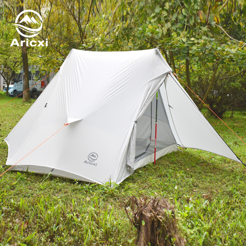 aricxi luz 2 ultraleve ao ar livre barraca de acampamento 2 pessoa profissional 15d silnailon sem