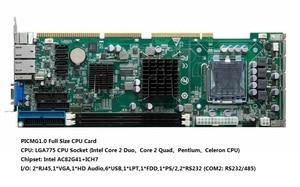 "Image 3 - 19 ""7U Raf Montaj Endüstriyel Iş Istasyonu, 15 inç LCD EKRAN, dokunmatik ekran, G41 Yonga Seti, e5300 CPU, 4GB RAM, 500GB HDD, 4 * PCI, 4 * ISA"