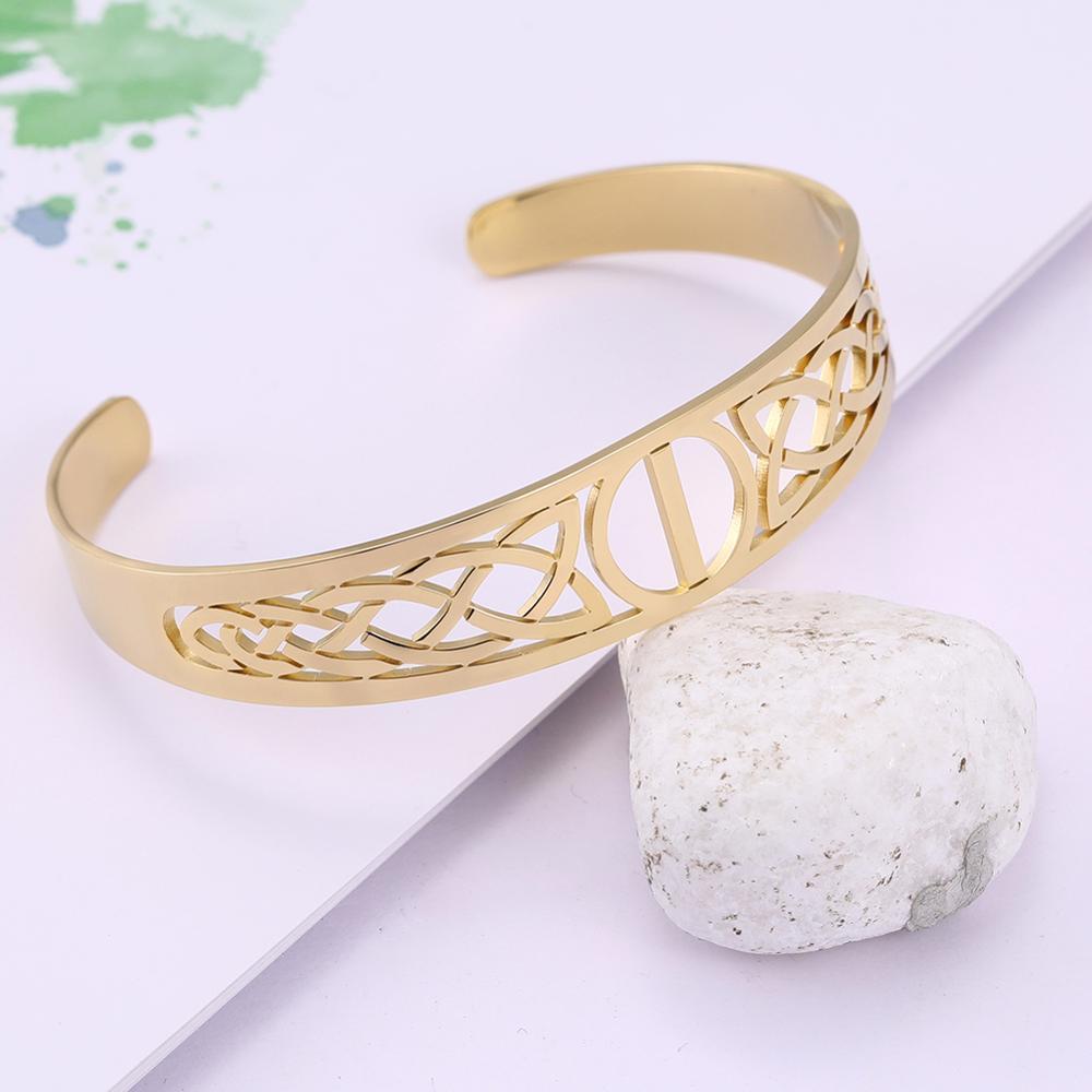 Bracelet Celtic symbole acier inoxydable 2