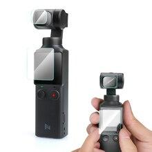 Protetor de lente de câmera para câmera fimi, lente de vidro temperado anti arranhão, 3 peças acessório protetor de filme