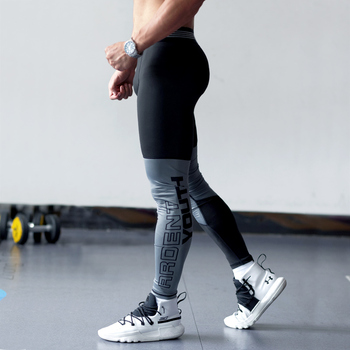 Fitness basketball Running Tights Men Jogger Bodybuilding Sports Leggings Gym Compression Jogging Pants Trousers Sport
