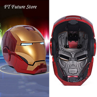 In Stock For Real People Fans Gifts 1/1 Scale Iron Man MK42 MK3 Mask Helmet Automatic On off Cap Model MK7 Upgrade Version