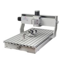 CNC 6040 Engraving Machine Frame Ball Screw Aluminum Rack Lathe Wood Carving Tool With Stepper Motor