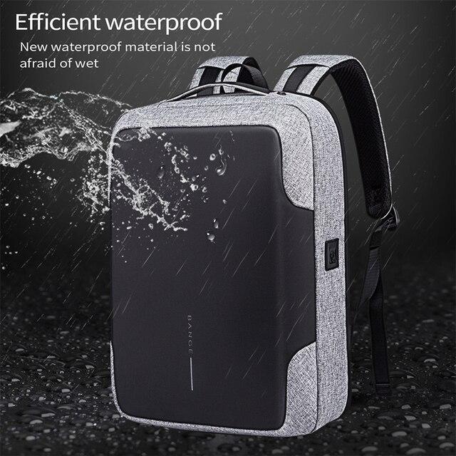 Bange Men Multifunction USB charging Backpack Anti-thief 15.6inch Laptop Backpacks Teenager Fashion Male Mochila Travel backpack 1