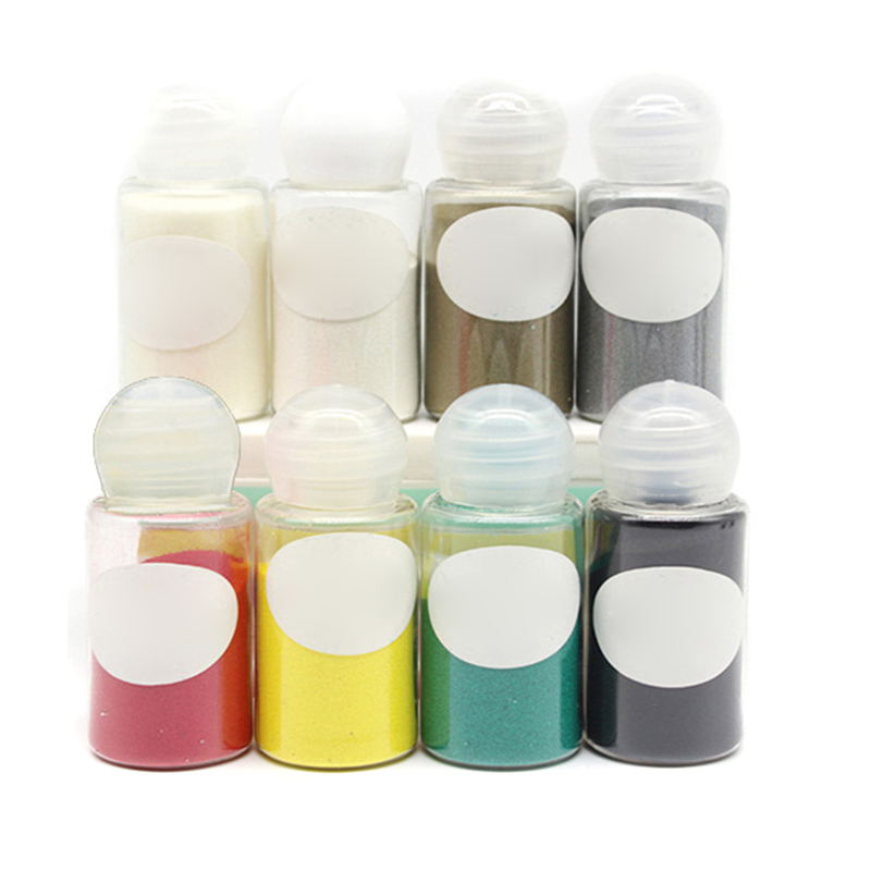 1 Pcs Embossed Powder Pigment 10ml DIY Embossing Stamping Scrapbooking Craft SER88