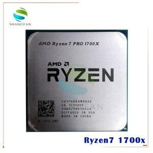 AMD Ryzen 7 1700X R7 1700X R7 pro 1700X 3.4 GHz Eight-Core CPU Processor YD170XBCM88AE YD17XBBAM88AE Socket AM4