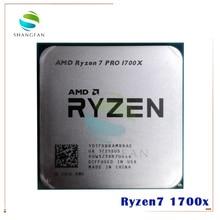 AMD Ryzen 7 1700X R7 1700X R7 pro 1700X 3.4 GHz Otto Core CPU Processore YD170XBCM88AE YD17XBBAM88AE Presa AM4