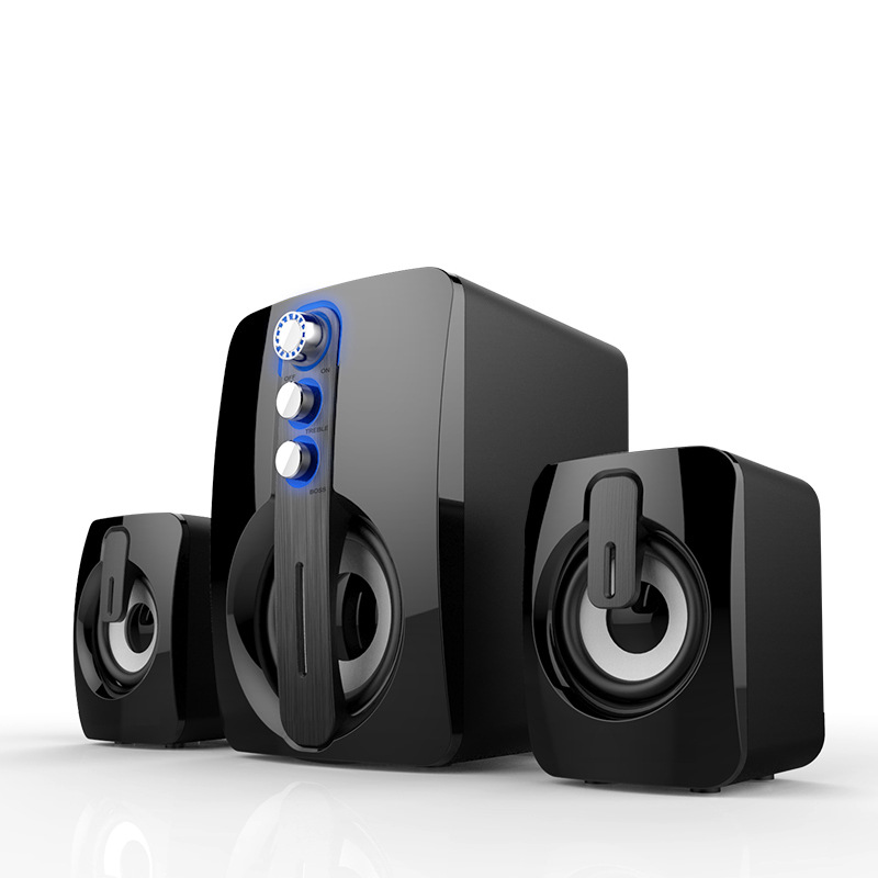 New 5.0 Bluetooth Speaker Subwoofer Laptop Speaker 3D Stereo Surround Music Center Home Theater Audio System Multifunctional Use