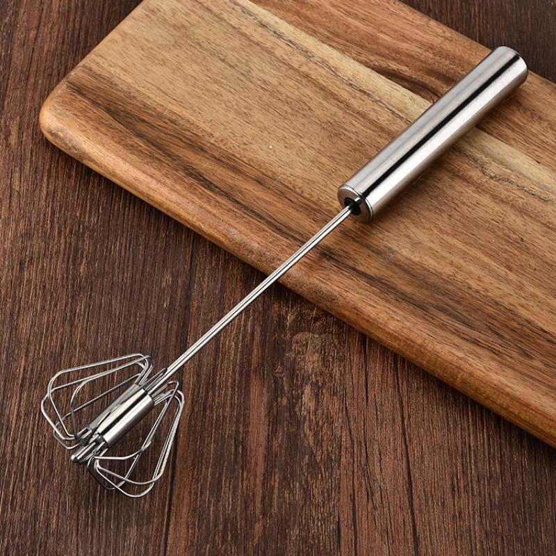 Нержавеющая сталь ручное давление вращающийся полуавтоматический миксер кофе молочный Миксер ручной миксер кухонные инструменты для приготовления пищи|Венчики для яиц|   | АлиЭкспресс