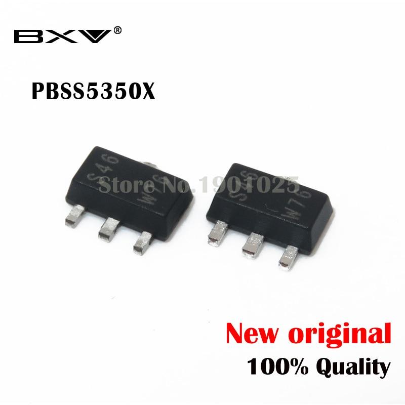 10 шт./лот, новый и оригинальный транзистор PBSS5350X SOT 89 PNP|Интегральные схемы|   | АлиЭкспресс