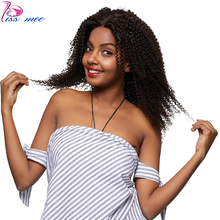 Kissmee Brazilian Kinky Curly Lace Front Human Hair Wig 180 Density Afro Kinky Curly Wig For Black Women 13*4 Remy Hair Lace Wig virgin kinky curly lace wig 7a mongolian lace front human hair wig glueless afro kinky curly full lace human wigs with baby hair