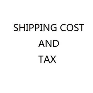 Shipping Cost and Tax