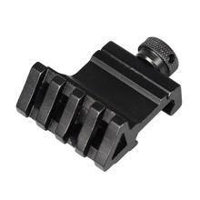 45 Degree Angle Tactical Scope Mount Aluminum 4 Slot Side Rail RTS Sight Rail Airsoft 45mm Picatinny Weaver Hunting Accessories