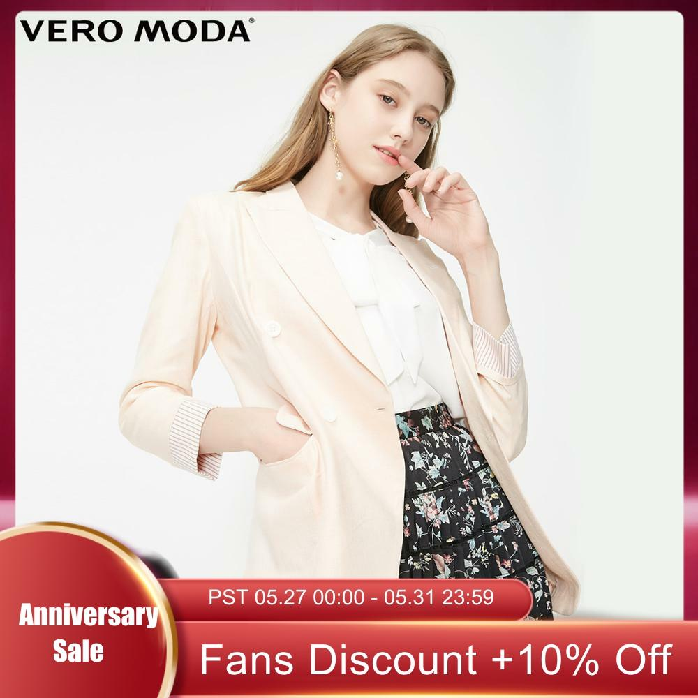 Vero Moda Women's Slim Fit 3/4 Sleeves Blazer | 319208513