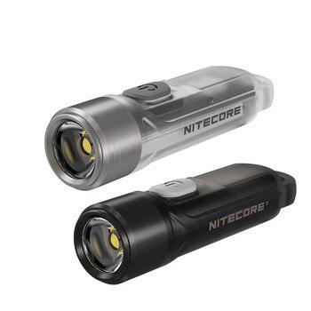 NITECORE TIKI LE Mini futurista llavero Luz de carga USB CRI blanco UV antorcha de LEDs max 300 lumen construido en la batería de la linterna