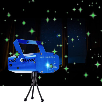 USB Power LED Laser Projector Lights Voice Control Led Disco Party Light For Christmas Wedding Bar Party DJ Stage Light цена 2017
