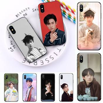 TFBOYS Jackson Yee band singer cover coque funda Phone Case for iPhone 11 12 mini pro XS MAX 8 7 6 6S Plus X 5S SE 2020 XR image
