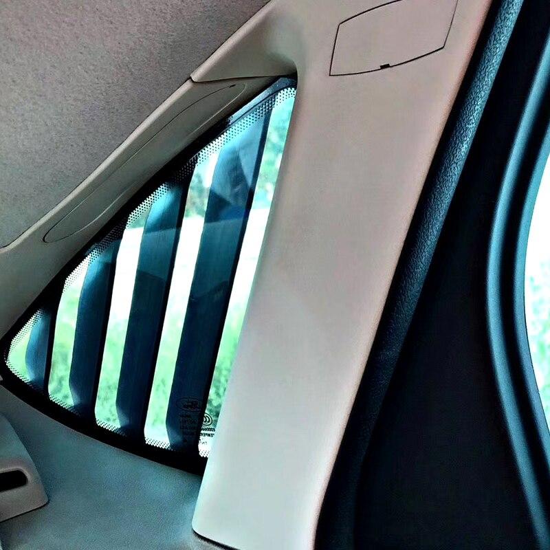Ford Focus MK2 Quarter Window Louvers 3