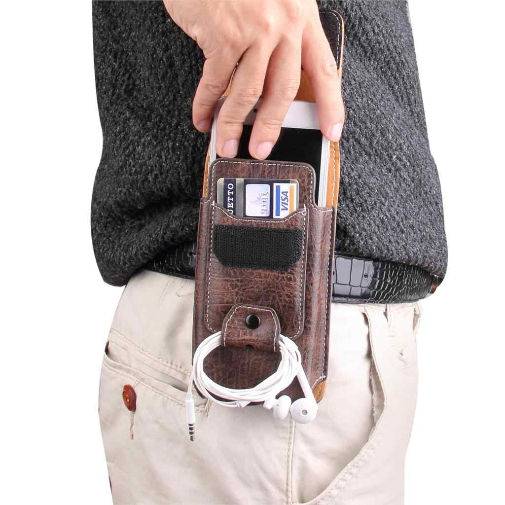 Universal Pouch สำหรับ Doogee F5/Valencia 2 Y100 Plus Pro/Mix 2/N10 เอวกระเป๋าแม่เหล็ก holster เข็มขัดคลิปโทรศัพท์