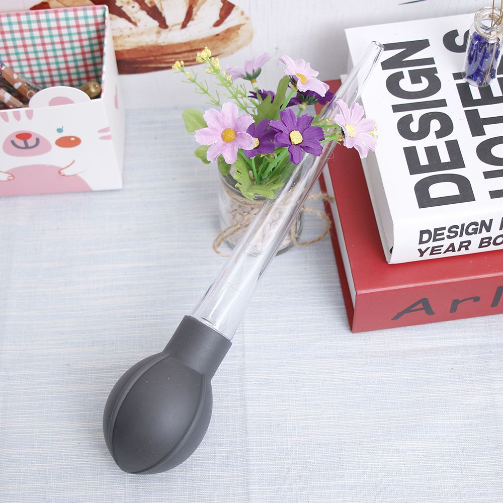 1PCS 28 ML Rubber Head Glass Dropper Glass Pipette Lab Dropper Pipet With Lab Chemistry Equipments