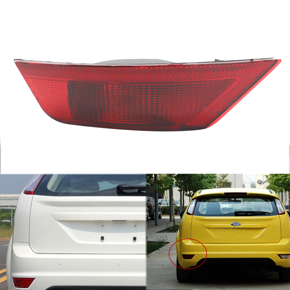 Car Red Halogen Rear Bumper Light Brake Fog Reflector Lamp for <font><b>Ford</b></font> Hatchback <font><b>Focus</b></font> <font><b>2010</b></font> 2011 2012 2013 N18 image
