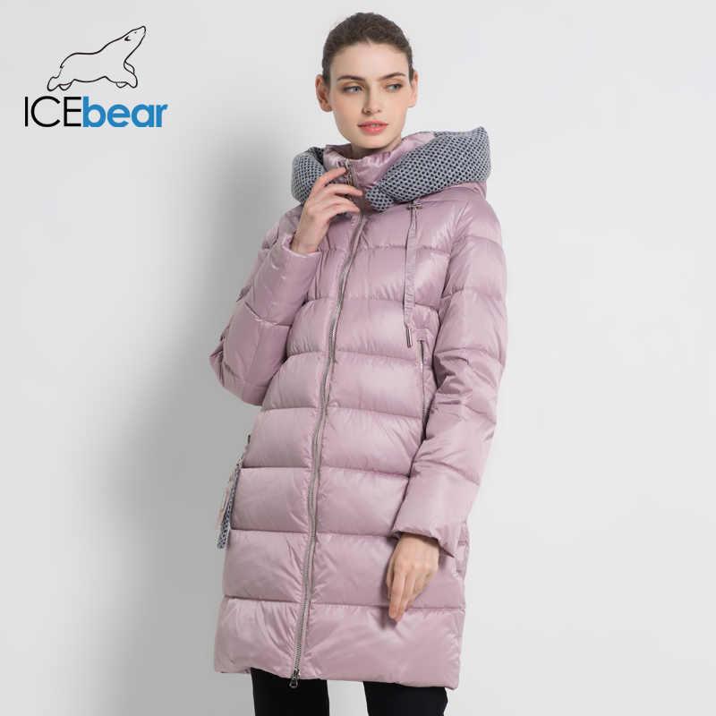 2019 New Women's Winter Jacket Hooded Female Clothing Warm Women's Coat Windproof Ladies Parkas Brand Clothing GWD19600I