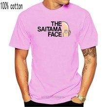 One Punch Man T Shirt 2018 Anime The Saitama Face T Shirt Men White Gray Cotton Casual Short Sleeve Tee Clothing 013799