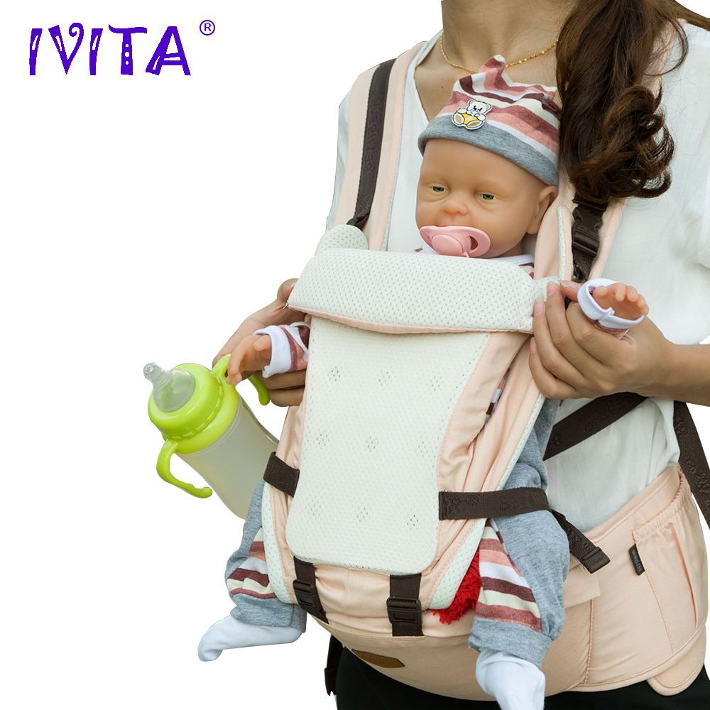 Reborn Baby Doll Alive IVITA Artificial-Toy Realisting Girl Silicone Children for WG1502