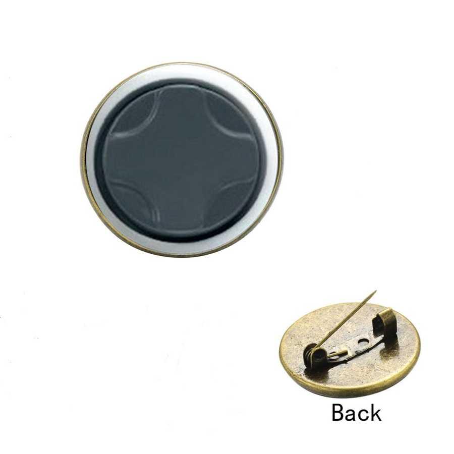 SIAN Gamers Gamepad Populaire Broche Pins Video Game Controller Meerdere Stijl Glas Cabochon Metalen Badge Rugzak Accessoires
