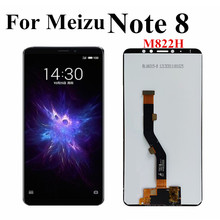 цена на For Meizu Note 8 M822H LCD Display Screen Touch Panel Digitizer Assembly For Meizu Note8 LCD Screen 6.0 inch