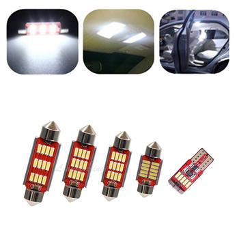15 sztuk LED zestaw do oświetlenia wnętrza Canbus dla Mitsubishi Montero Shogun Pajero 4 V80 V93 V97 V98 2007 #8211 2016 2017 2018 2019 2020 tanie i dobre opinie Liangyajing CN (pochodzenie) Oświetlenie wnętrza 150-220Lm bulb T10 (W5W 194) 12 v 0 1kg 2008 2010 2011 2012 2013 2014