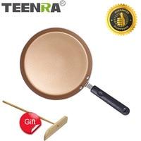 TEENRA ノンスティック鍋アルミ合金パン卵ポットステーキフライパン調理器具キッチンアクセサリー|フライパン|   -