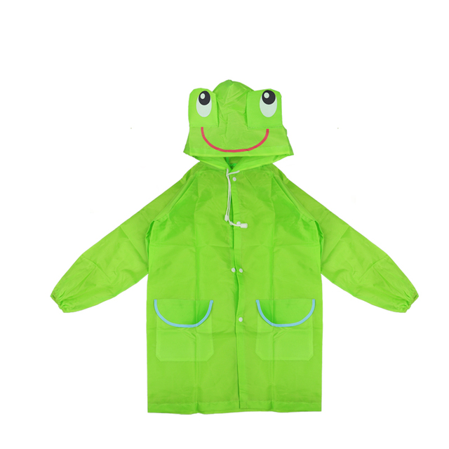 Raincoat Kids Cartoon Animal Style Waterproof Kids Raincoat Baby Raincoat for Children Rain Coat Rainwear Rain Coat Kids 5