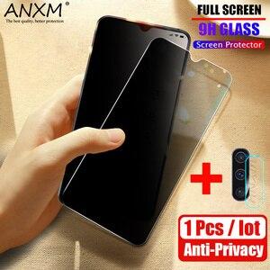 Image 1 - レンズ強化ガラス Huawei 社の名誉 10 10i lite プライバシースクリーンプロテクターのための抗ブルーレイスパイ 10 lite 保護ガラス