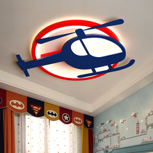 Princess Girls Boys Baby Child Children Kids Room Light Airplane Ceiling Lamp Led Bedroom Nursery Kindergarden Lighting