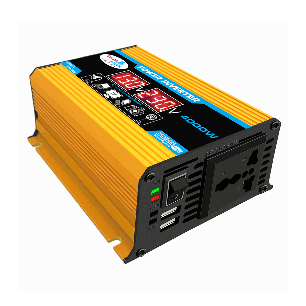 AOSHIKE Modified Sine Wave Car Power Inverter 12v 220v Inversor 12 v 220 v DC 12v to AC 110v Auto 230 Volt Voltage Converter