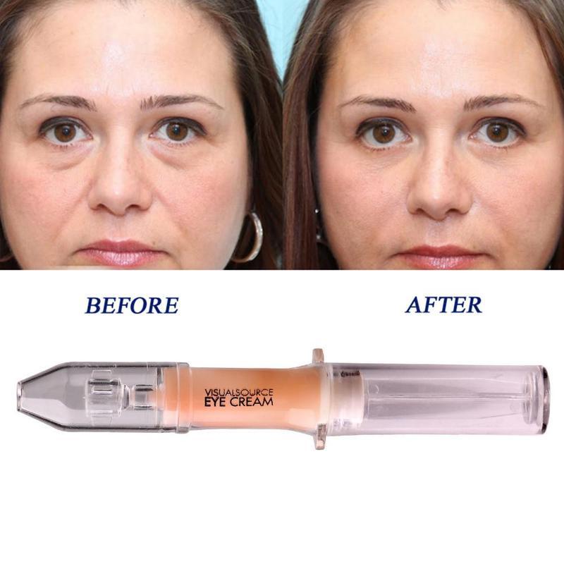 Crème pour les yeux raffermissante nanotechnologie 2 minutes retrait rapide des sacs pour les yeux crème pour les yeux raffermissante Anti-rides et vieillissement hydratante nourrir la peau