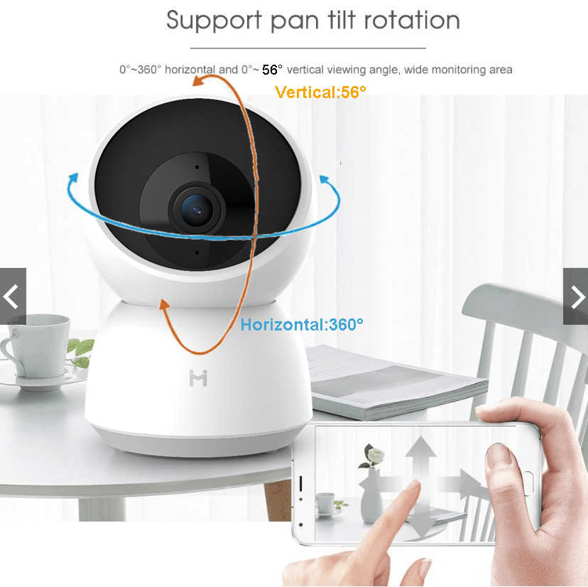 2020 Xiaomi Neue 2K Smart Kamera 1296P 360 Winkel HD Cam WIFI Infrarot Nachtsicht Webcam Video kamera baby Sicherheit Monitor