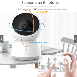 Image 2 - Xiaomi Mijia 2K Smart Camera 1296P 360 Angle HD Cam WIFI Infrared Night Vision Webcam Video Camera Baby Security Monitor Mi Home