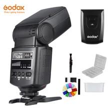 Вспышка Godox TT520 II TT520II со встроенным беспроводным сигналом 433 МГц + трансмиттером, комплект для цифровых зеркальных камер Canon, Nikon, Pentax, Olympus