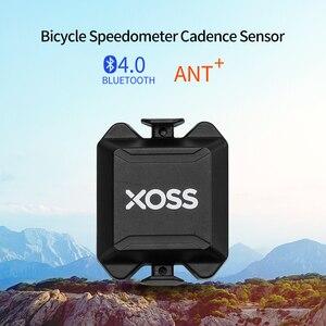 Велосипедный компьютер XOSS, измеритель скорости ANT +, двойной датчик частоты вращения, подходит для Garmin iGPSPORT Bryton Blutooth 4,0 Strava